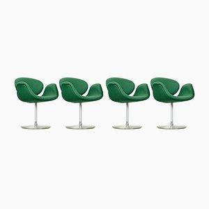 Petites Chaises de Salon Tulip par Pierre Paulin pour Artifort, 1990s, Set de 4