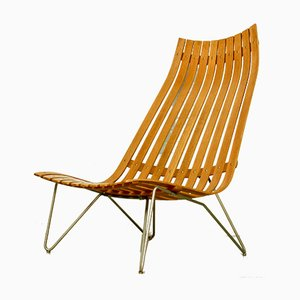Scandia Lounge Chair by Hans Brattrud for Hove Møbler, 1960s