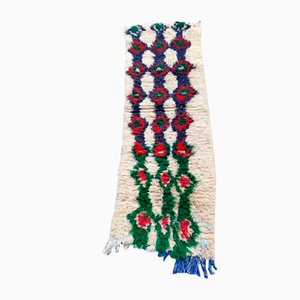 Small Beige Azilal Corridor Berber Carpet