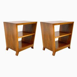 Tables de Chevet par Gio Ponti pour C. Schirolli & C. Mantova, 1950s, Set de 2