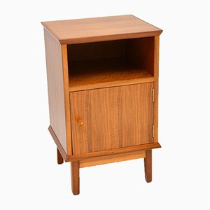 Vintage Walnut Bedside Cabinet by Alfred Cox, 1950s