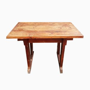Vintage Worktable or Side Table, 1960s
