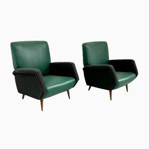 Modell 803 Sessel von Gio Ponti für Cassina, 1954, 2er Set