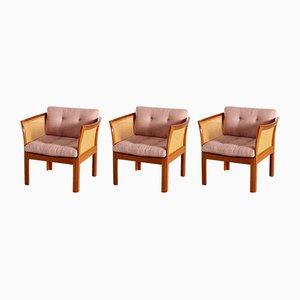 Plexus Living Room Set by Illum Wikkelsø for CFC Silkeborg, 1960s, Set of 3