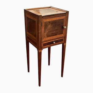 18th Century Italian Louis XVI Rosewood Bedside Table