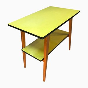 Formica Compass Console Table, 1950s