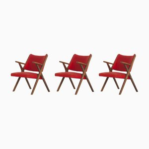 Italian Armchairs from Dal Vera, 1960s, Set of 3