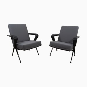 Repose Lounge Chairs Set by Friso Kramer for Ahrend De Cirkel, 1967, Set of 2