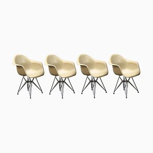 Lounge Chairs by Charles & Ray Eames for Herman Miller, 1950s, Set of 4