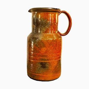 Brocca in ceramica di Alessio Tasca, anni '70