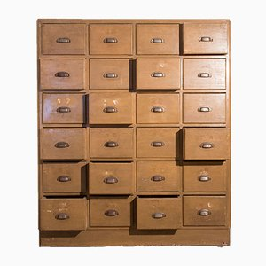Large Vintage Italian Chest of Drawers, 1930s