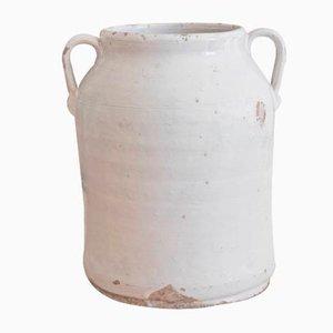 19th Century Italian Ceramic Vase from Calvello