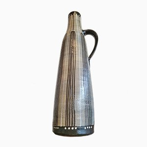 Mid-Century Stoneware Handle Vase from Piesche & Reif