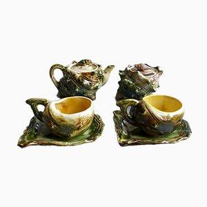Vintage Ceramic Seafood Tea Set, 1960s, Set of 6