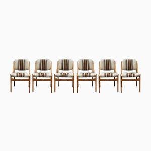 Chaises de Salon Modèle Ella Mid-Century par Arne Vodder pour Vamø, Set de 6
