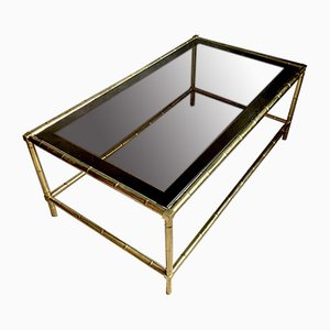 Mid-Century French Coffee Table from Maison Baguès, 1960s