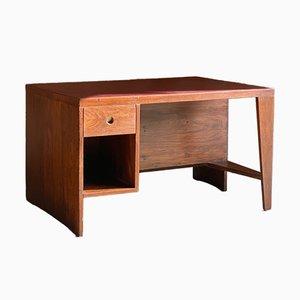 Model PJ-BU-02-A Rosewood Pigeonhole Desk by Pierre Jeanneret, 1950s