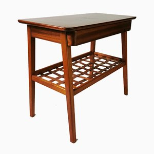 Modernist Table with Drawer, Norway, 1960s