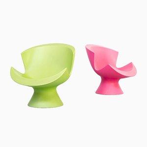 Kite Lounge Chairs by Karim Rashid for Label, 2004, Set of 2