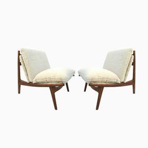 Modell 790 Sessel von J.A Motte für Steiner, 1960er, 2er Set