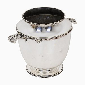 Silver-Plated Wine Cooler-Champagne Bucket by Maison Bouillet Bourdelle
