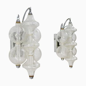 Tulip Wall Lights from Kalmar, Austria, 1960s, Set of 2
