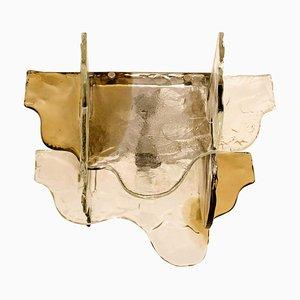 Lampada ad incasso in vetro di Murano di Carlo Nason per Mazzega, Italia, anni '60