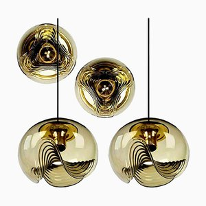 Light Fixtures by Koch & Lowy, 1970s, Set of 4