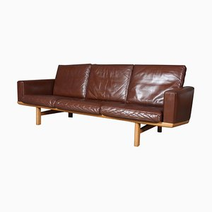 Mid-Century 3-Seat Sofa by Hans J. Wegner for Getama