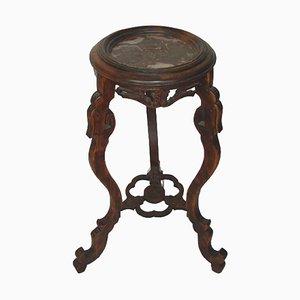 Vintage Carved Pedestal