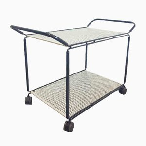 Vintage Perforated Metal Mategot Trolley from Ikea, 1990s