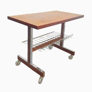 Vintage Rosewood Hi-Fi Trolley Side Table