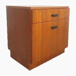 Vintage Teak Bedside Cabinet, 1960s