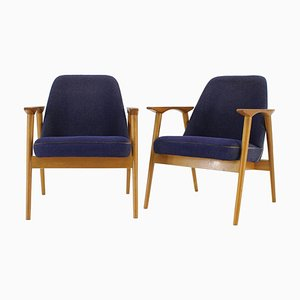 Armchairs by Miroslav Navratil, Czechoslovakia, 1960s, Set of 2