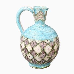 Mid-Century Italian Decorative Ceramic Jug by Guido Gambone, 1950s