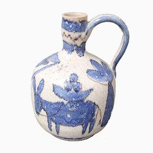 Brocca Mid-Century in ceramica di Guido Gambone, Italia, anni '50