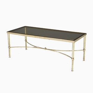 Mid-Century Brass and Glass Coffee Table, 1960s