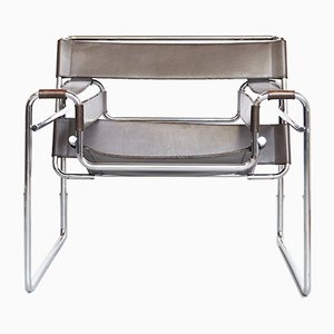 Vintage B3 Wassily Chair by Marcel Breuer for Gavina, 1980s