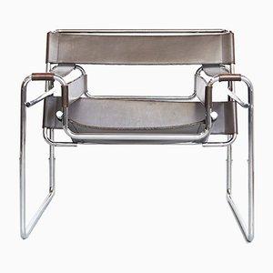 Vintage B3 Wassily Chair von Marcel Breuer für Gavina, 1980er