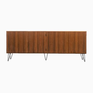 Walnut Sideboard with Hairpin Legs, 1960s