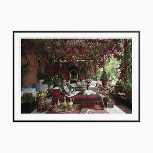 Adolfo De Velasco Oversize C Print Framed in Black by Slim Aarons