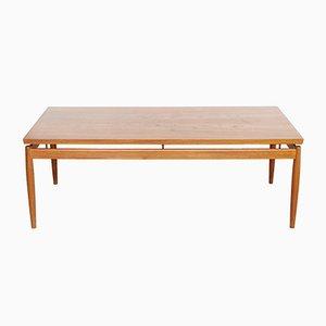 Table Basse en Teck par Grete Jalk pour France & Søn / France & Daverkosen, 1960s