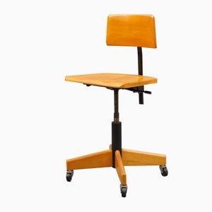 Schreibtischstuhl von Stoll Giroflex, 1960er