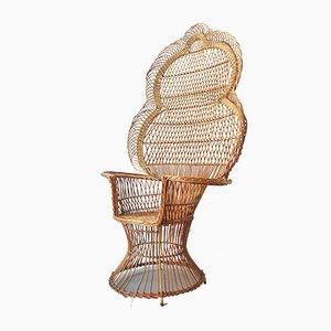 Emanuelle Peacock Armchair, 1970s