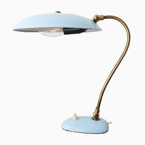 Lampada da tavolo in ottone di Stilnovo, anni '50