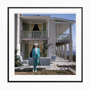 Colin Tennant Oversize C Print Framed in Black by Slim Aarons