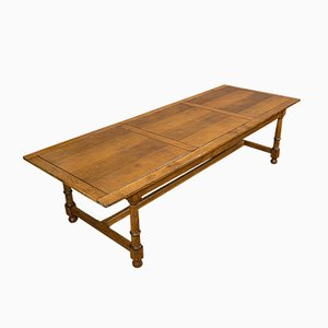 Large Antique Scottish Refectory Table