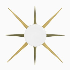 Windrose Solare Collection Ceiling or Wall Lamp from Design for Macha