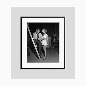 Eddie Fisher and Debbie Reynolds Archival Pigment Print Framed in Black by Bettmann
