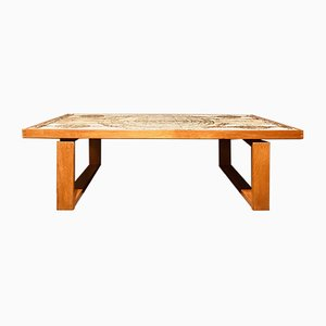 Danish Coffee Table by Ox Art for Trioh, 1960s